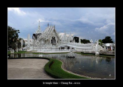 le temple blanc (Wat Rong Khun) à Chiang Rai - l'autre ailleurs en Thaïlande, une autre idée du voyage