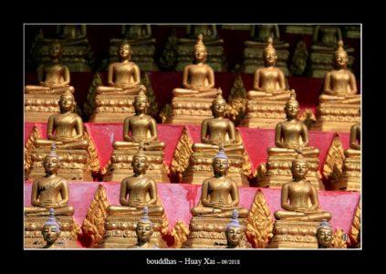 bouddhas à Huay Xai - l'autre ailleurs au Laos, une autre idée du voyage