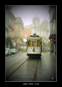 """carmo"", dans la brume de Porto ~ thierry llopis photographies (www.thierryllopis.fr)"