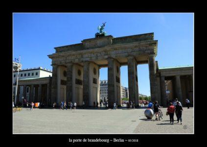 La porte de Brandebourg à Berlin (thierry llopis photographie)