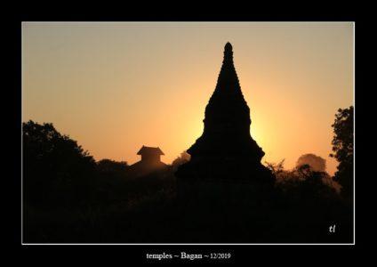 temples à Bagan au Myanmar (Birmanie) - thierry llopis photographies (www.thierryllopis.fr)