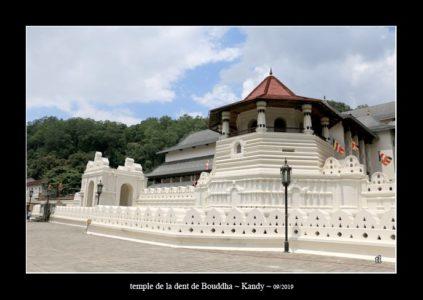 temple de la dent de bouddha à Kandy - thierry llopis photographies (www.thierryllopis.fr)